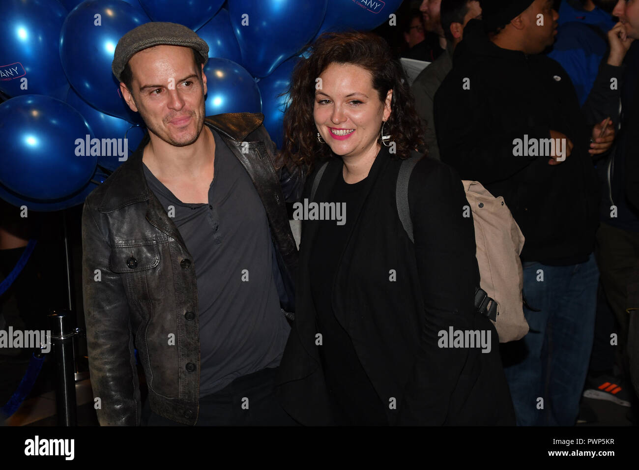 London, UK. 17th Oct, 2018. Andrew Scott attend the Company - Opening Night at Gielgud Theatre, London, UK. 17 October 2018. Credit: Picture Capital/Alamy Live News - Stock Image
