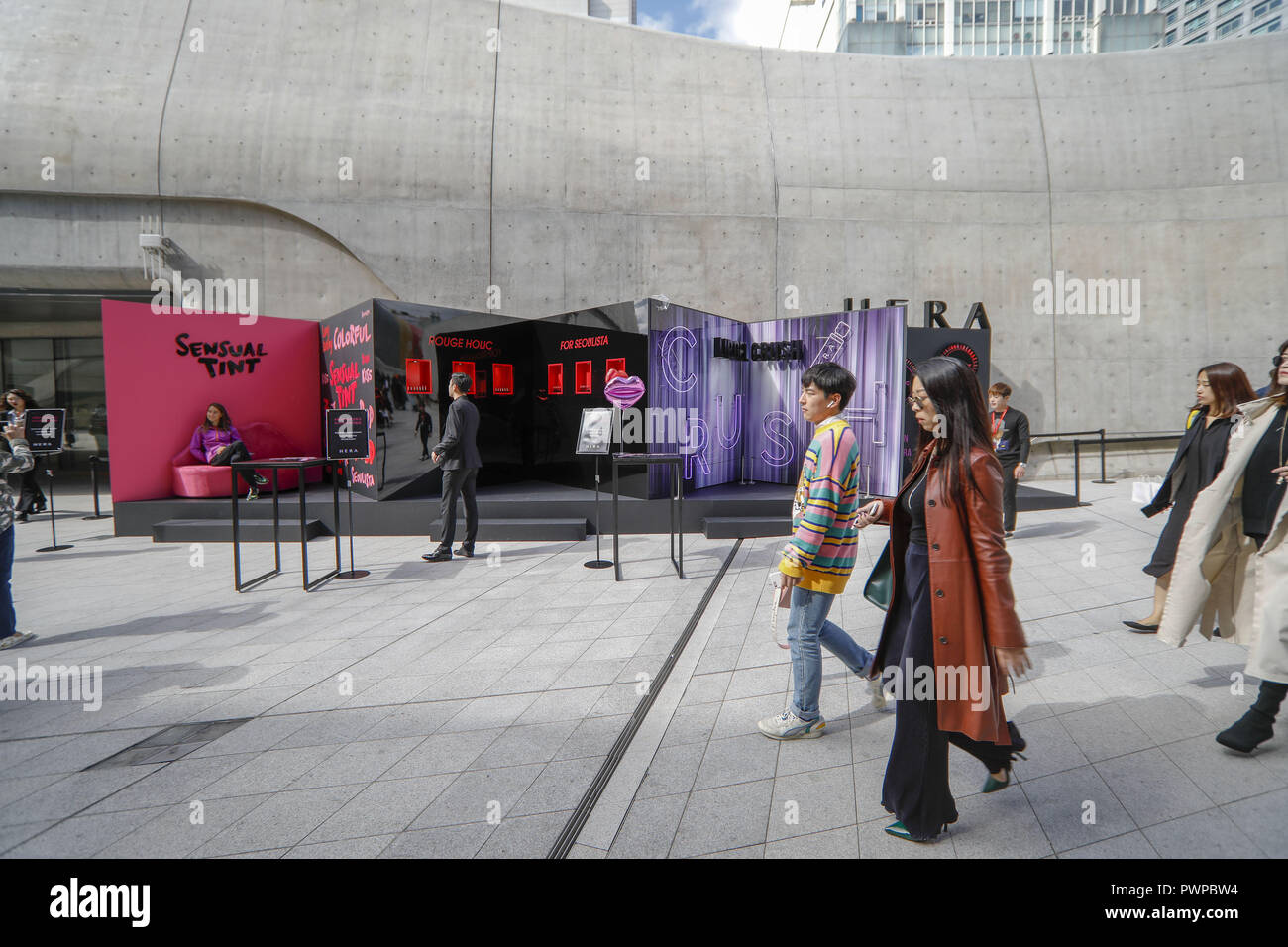 October 18 2018 Seoul South Korea Oct 18 2018 Seoul South Korea Guests Seen At The