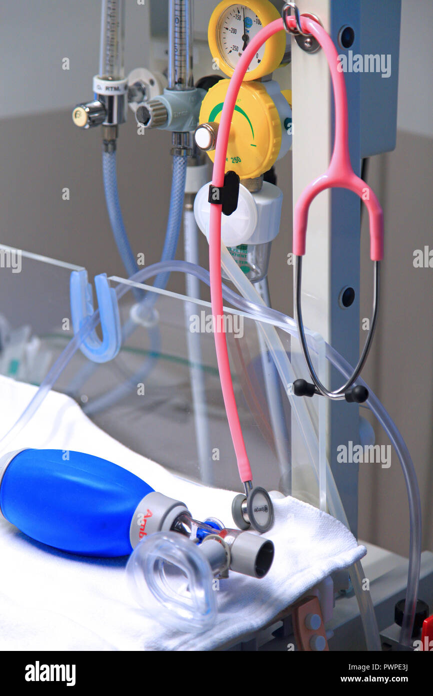 Hospital. - Stock Image
