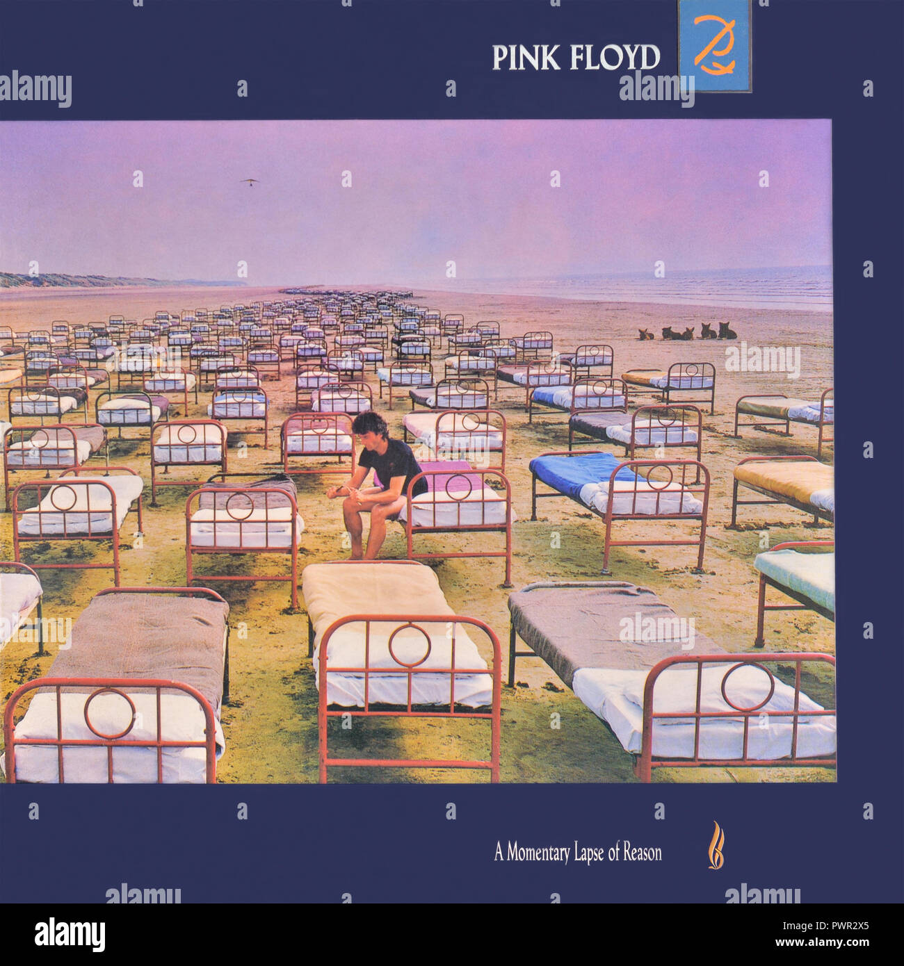 50d059d65 Pink Floyd original vinyl album cover - A Momentary Lapse of Reason - 1987