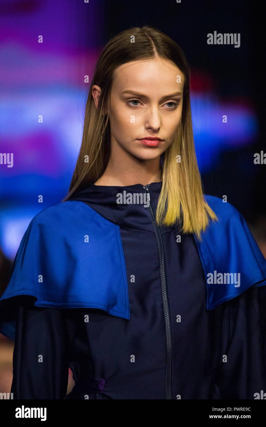 Nor Norwegian Fashion Designer Runway Show At Los Angeles Fashion Week Petersen Automotive Museum October 10 2018 Los Angeles California Usa Stock Photo Alamy