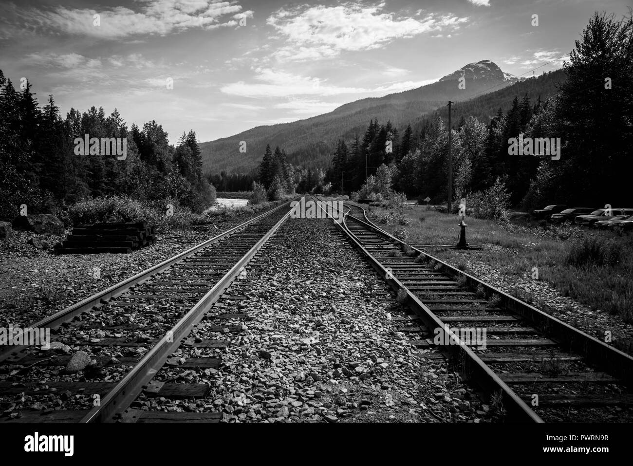 tracks - Stock Image