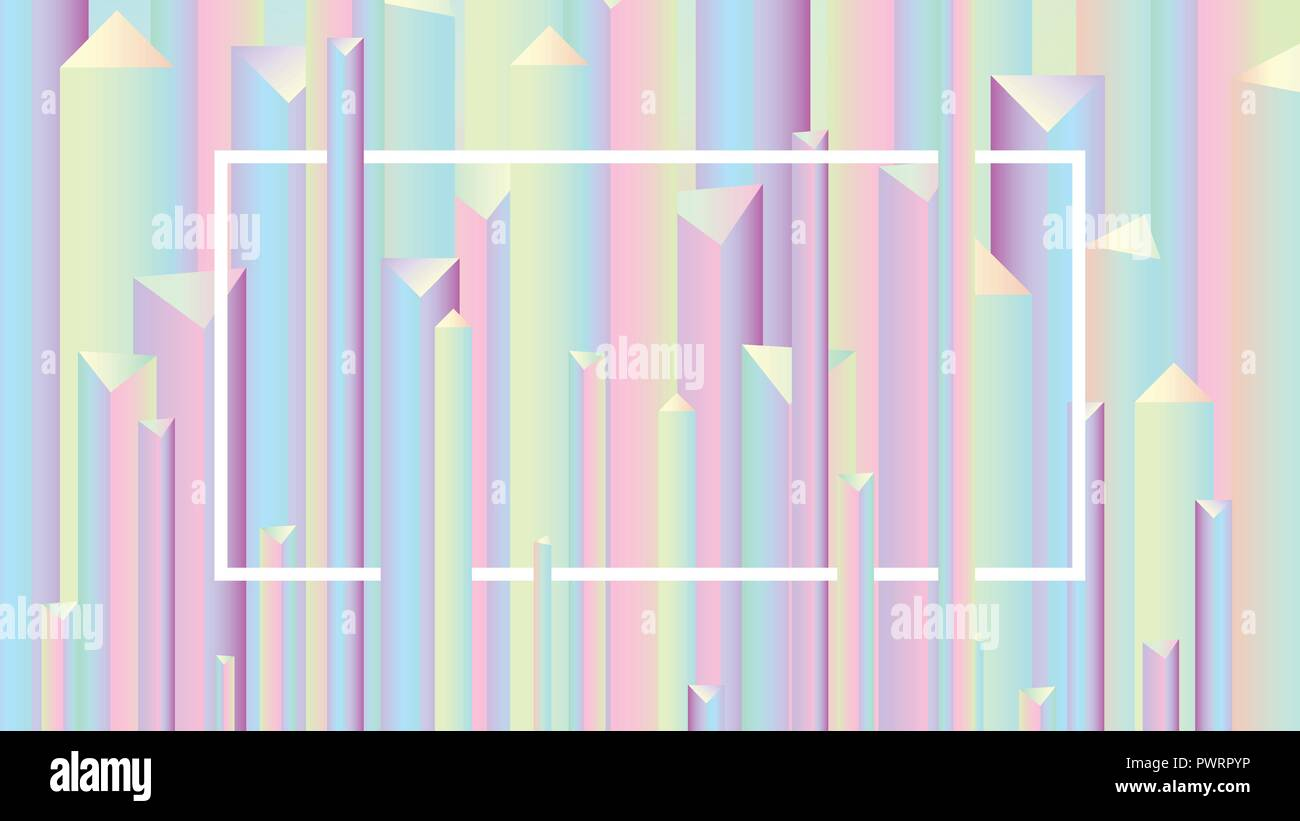 Colorful abstract vivid holographic style gradients