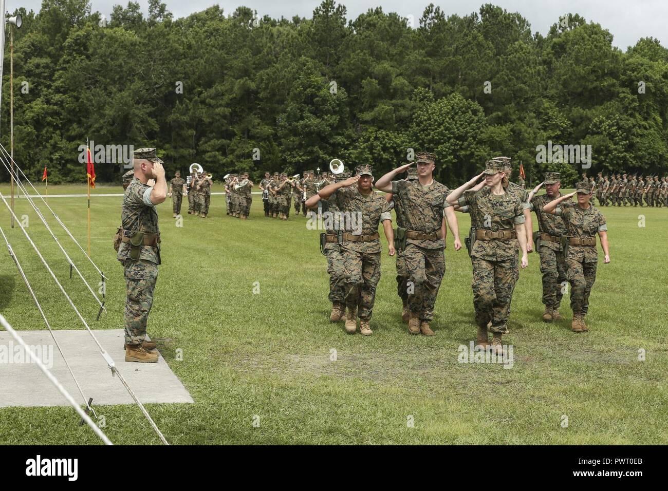Us Marine Corps Lt Col Lauren S Edwards And Lt Col Patrick G