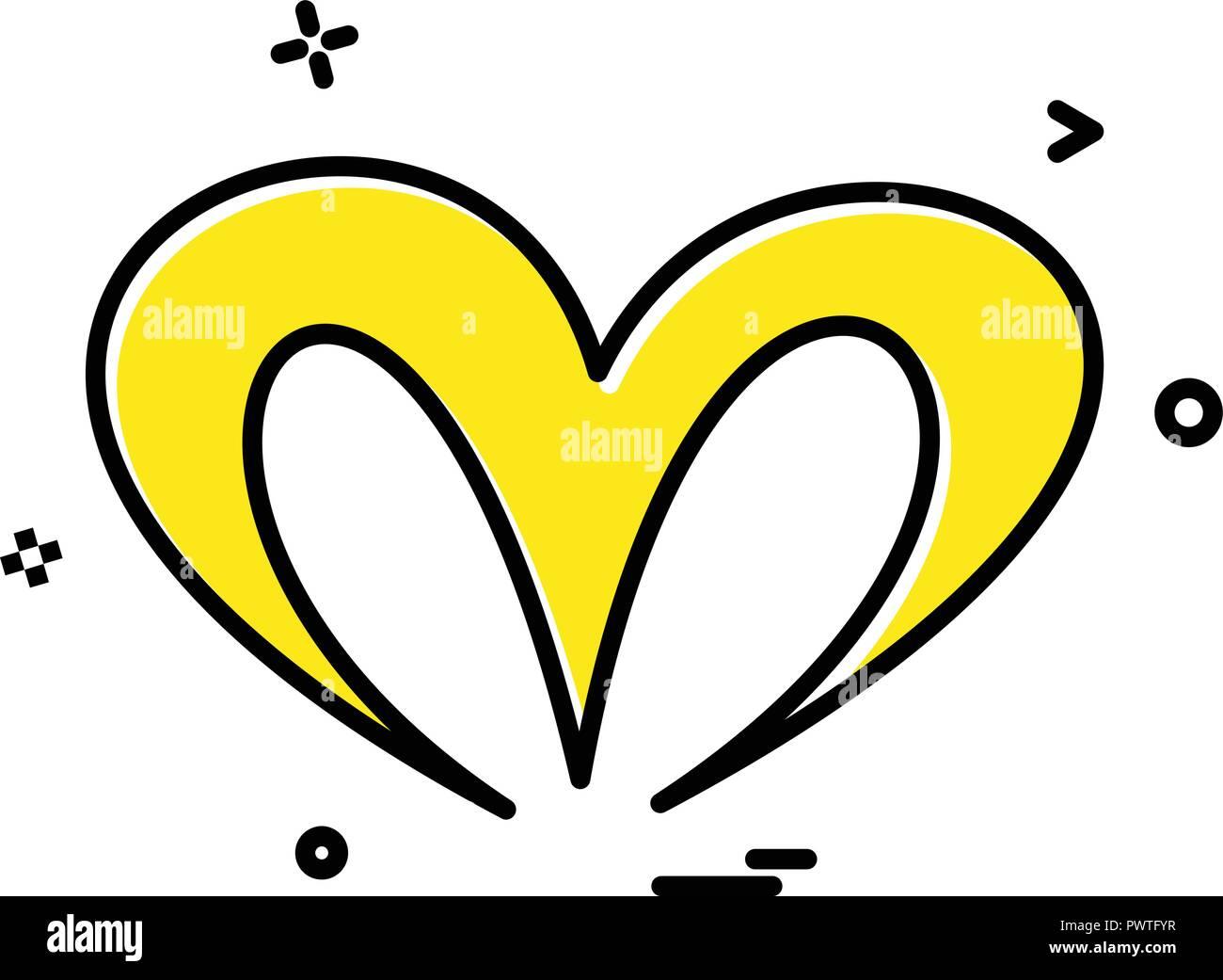Christmas Heart Vector.Christmas Heart Icon Design Vector Stock Vector Art