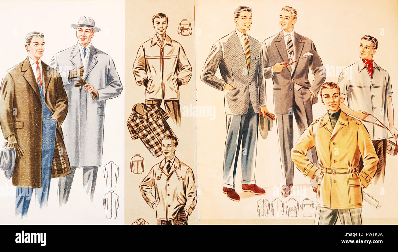 1950s Fashion Men Stock Photos & 1950s Fashion Men Stock ...