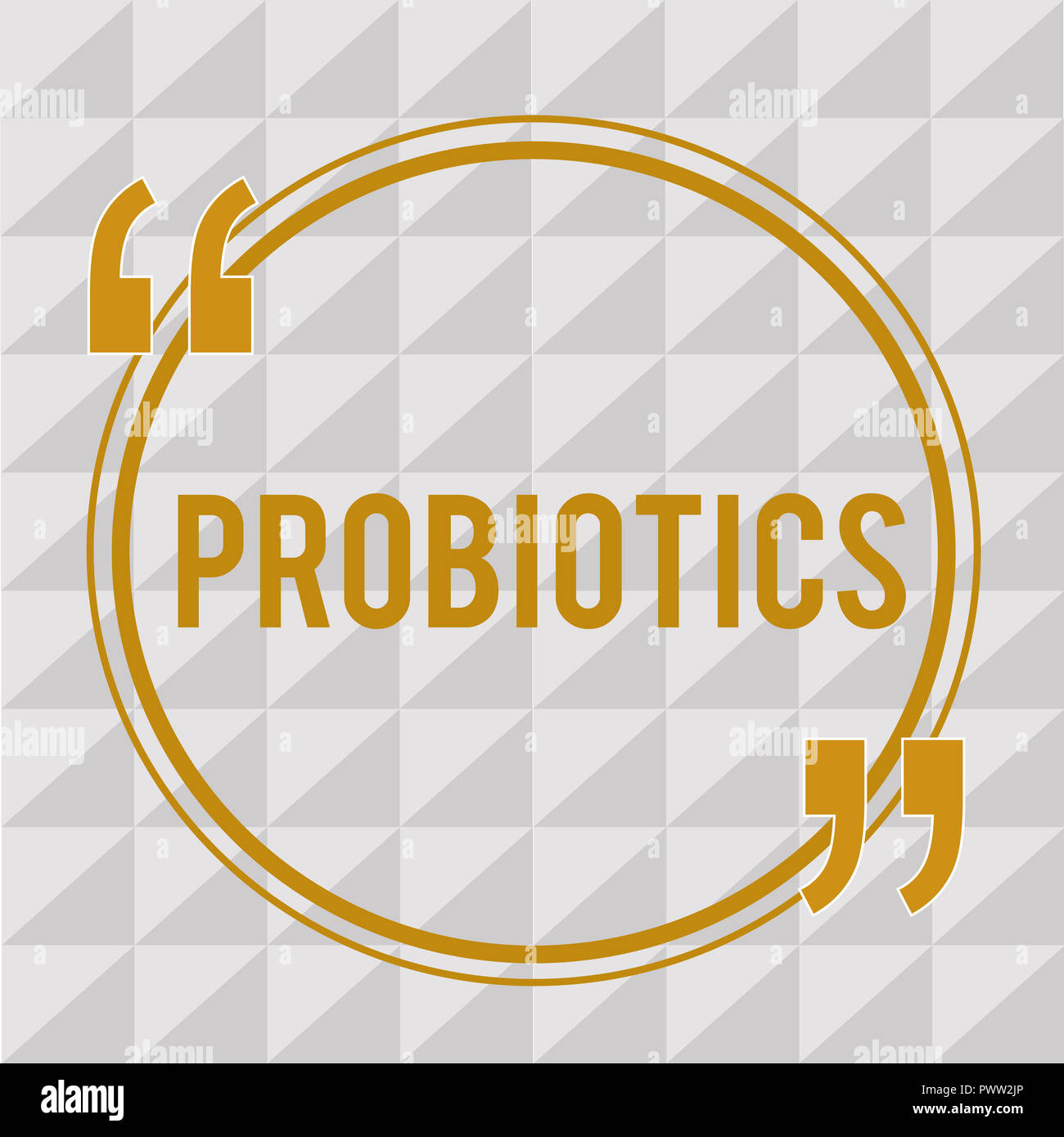 Handwriting text Probiotics. Concept meaning Live bacteria Microorganism hosted into the body for its benefits. - Stock Image