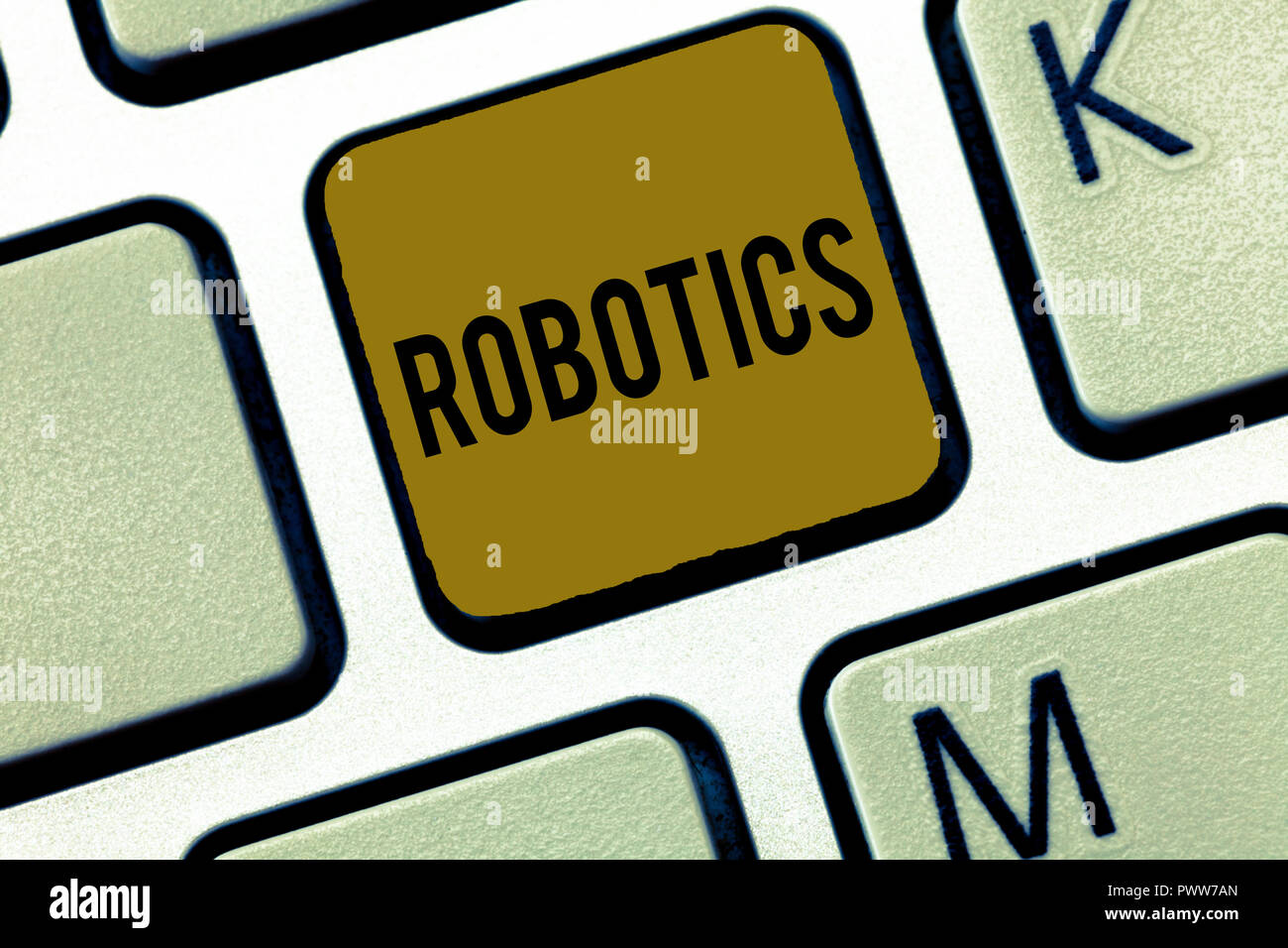 Word Writing Text Robotics Business Concept For Branch Of