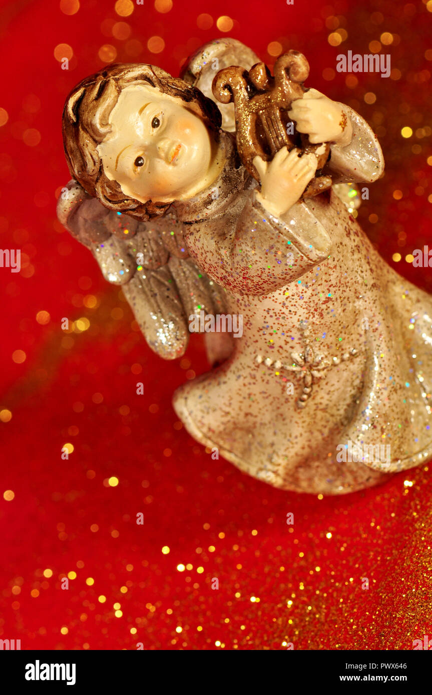 Christmas Decoration Angel Christmas Card
