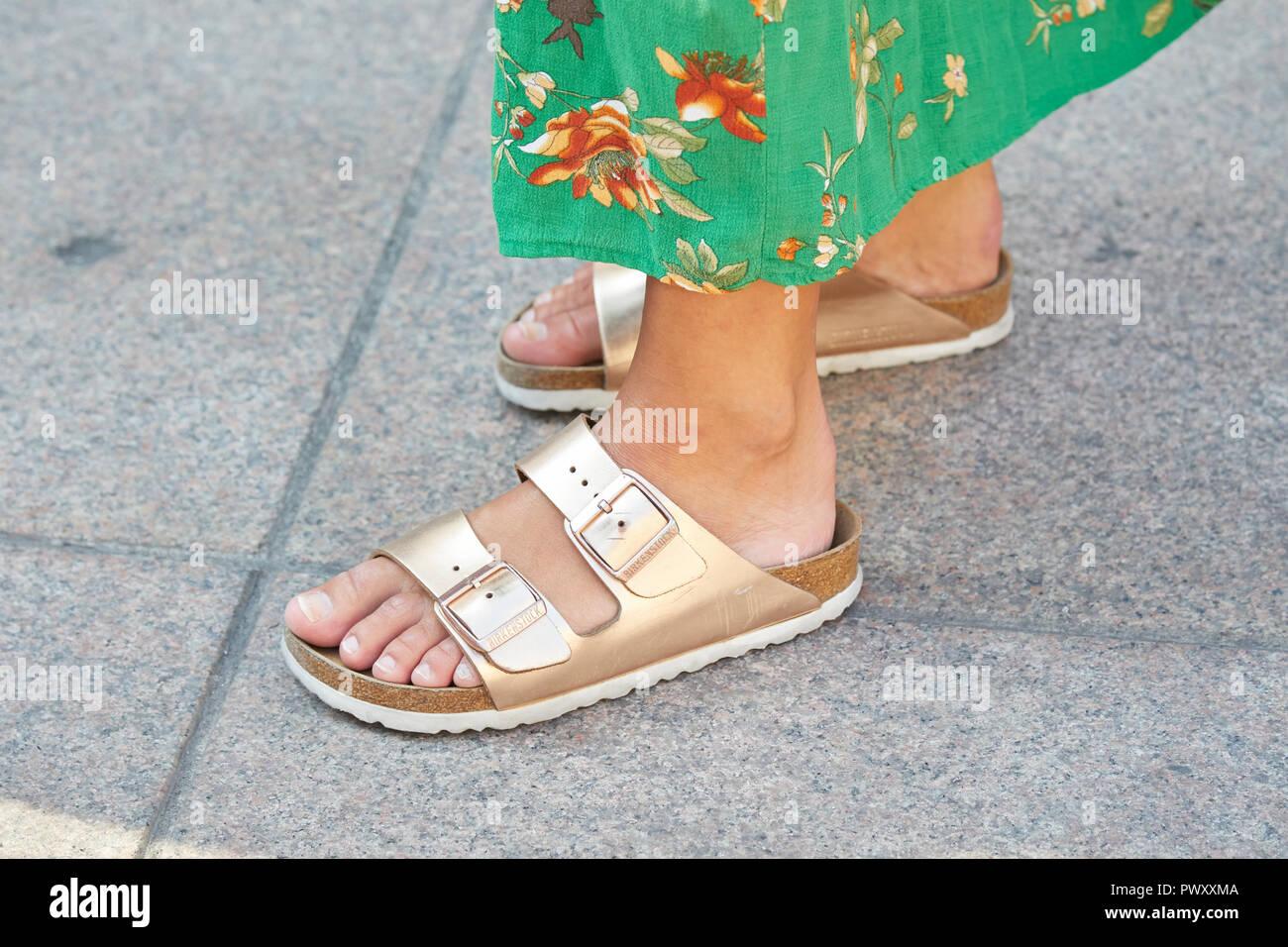 buy popular 09859 f7f6e Birkenstock Feet Stock Photos & Birkenstock Feet Stock ...
