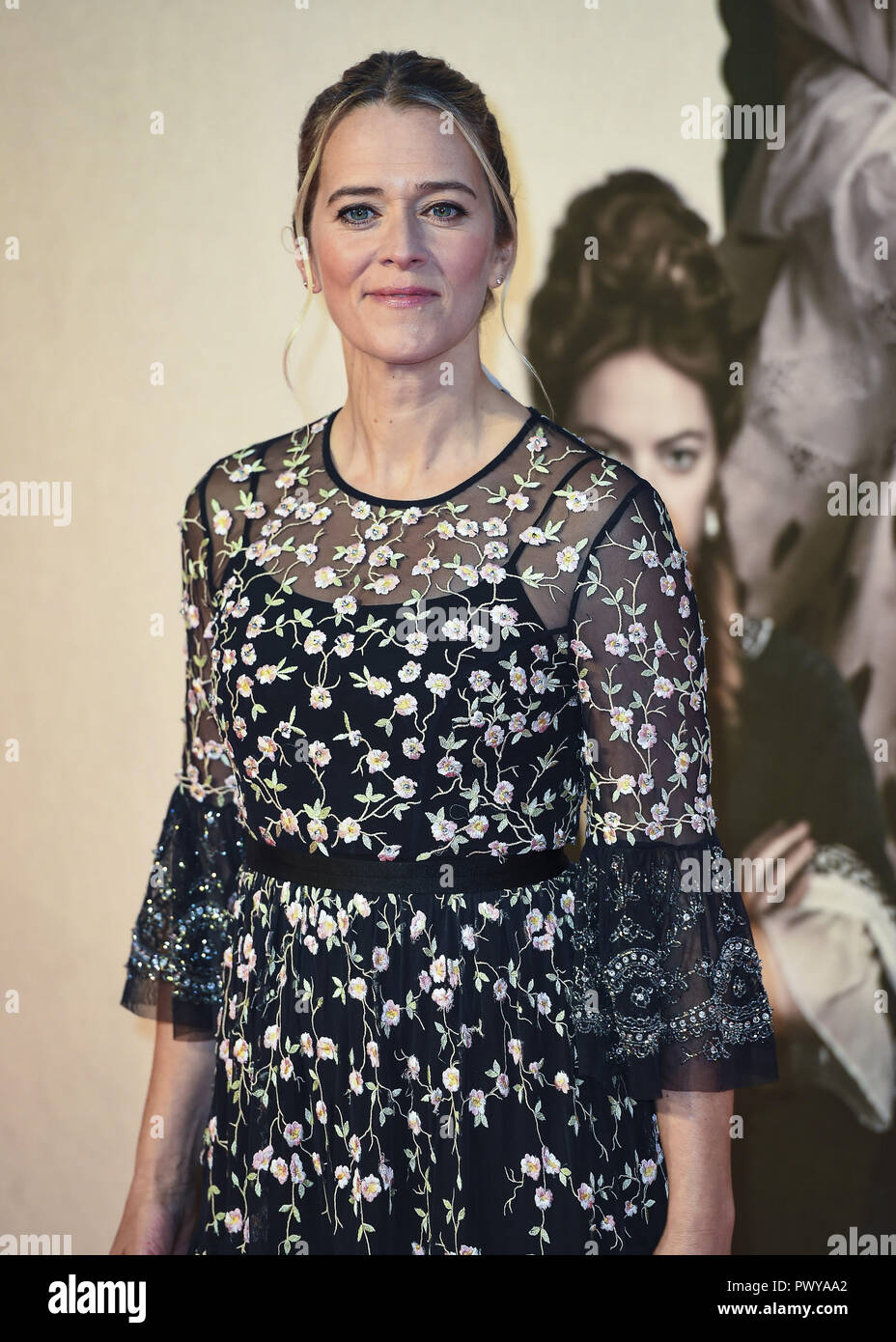 London, UK. 18th Oct, 2018. Edith Bowman attends the UK Premiere of 'The Favourite' & American Express Gala at the 62nd BFI London Film Festival. Credit: Gary Mitchell/SOPA Images/ZUMA Wire/Alamy Live News - Stock Image