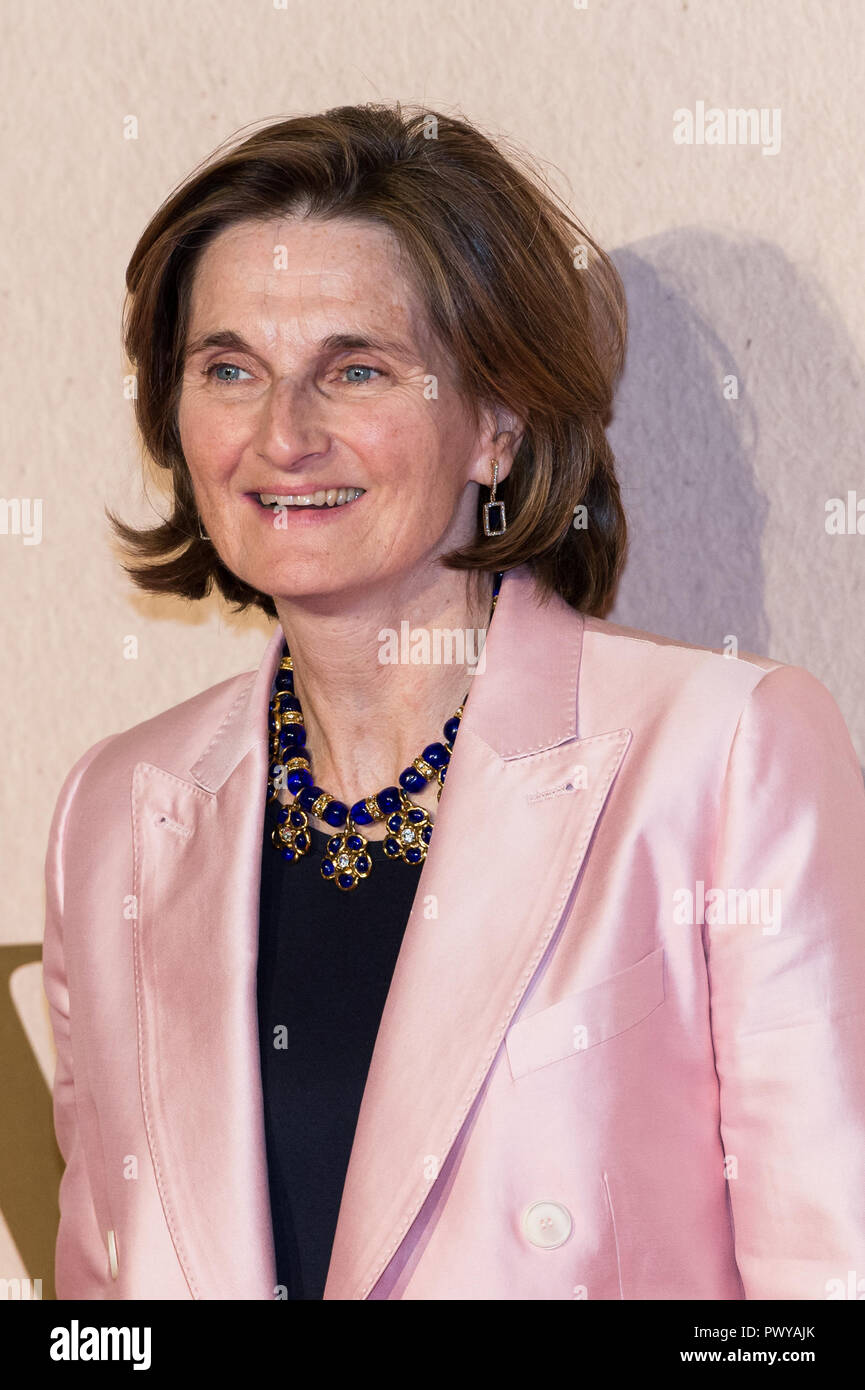 London, UK. 18th October 2018. Deborah Davis attends the UK film premiere of 'The Favourite' at BFI Southbank during the 62nd London Film Festival American Express Gala. Credit: Wiktor Szymanowicz/Alamy Live News - Stock Image