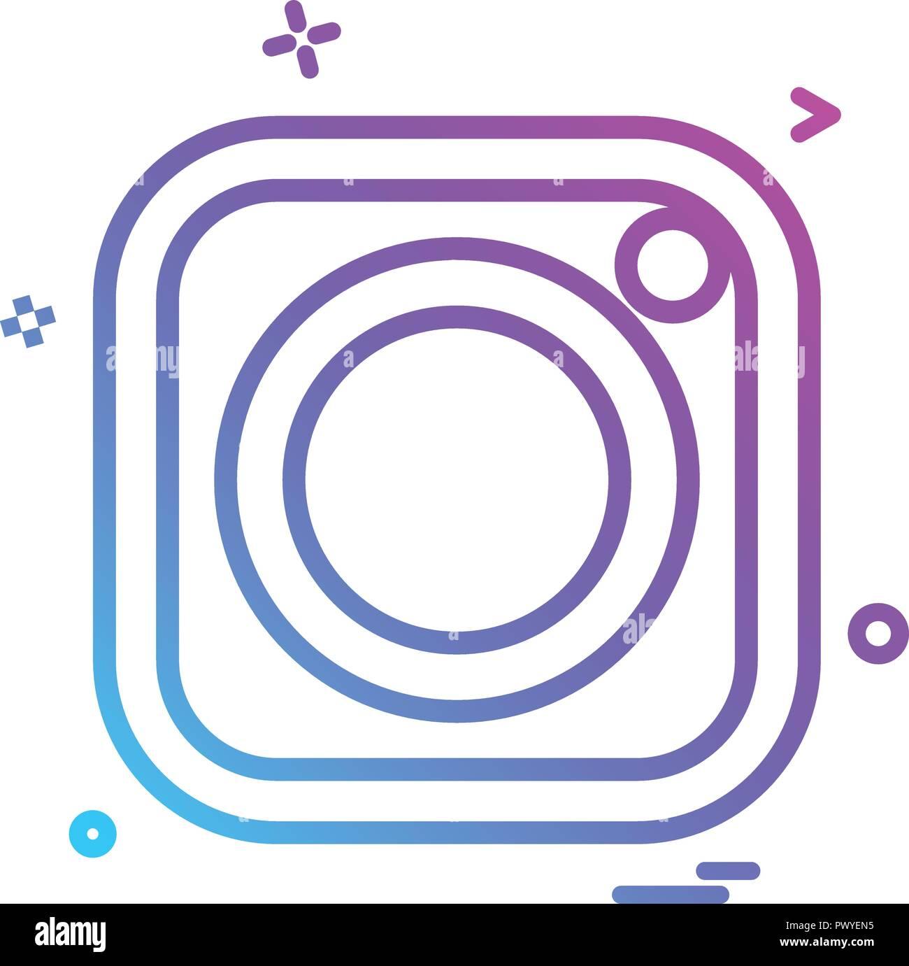 Vector Illustration Instagram: Instagram App Cut Out Stock Images & Pictures