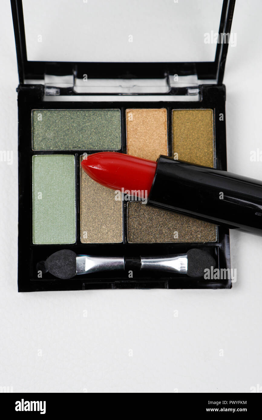 Makeup products. Still life - Stock Image