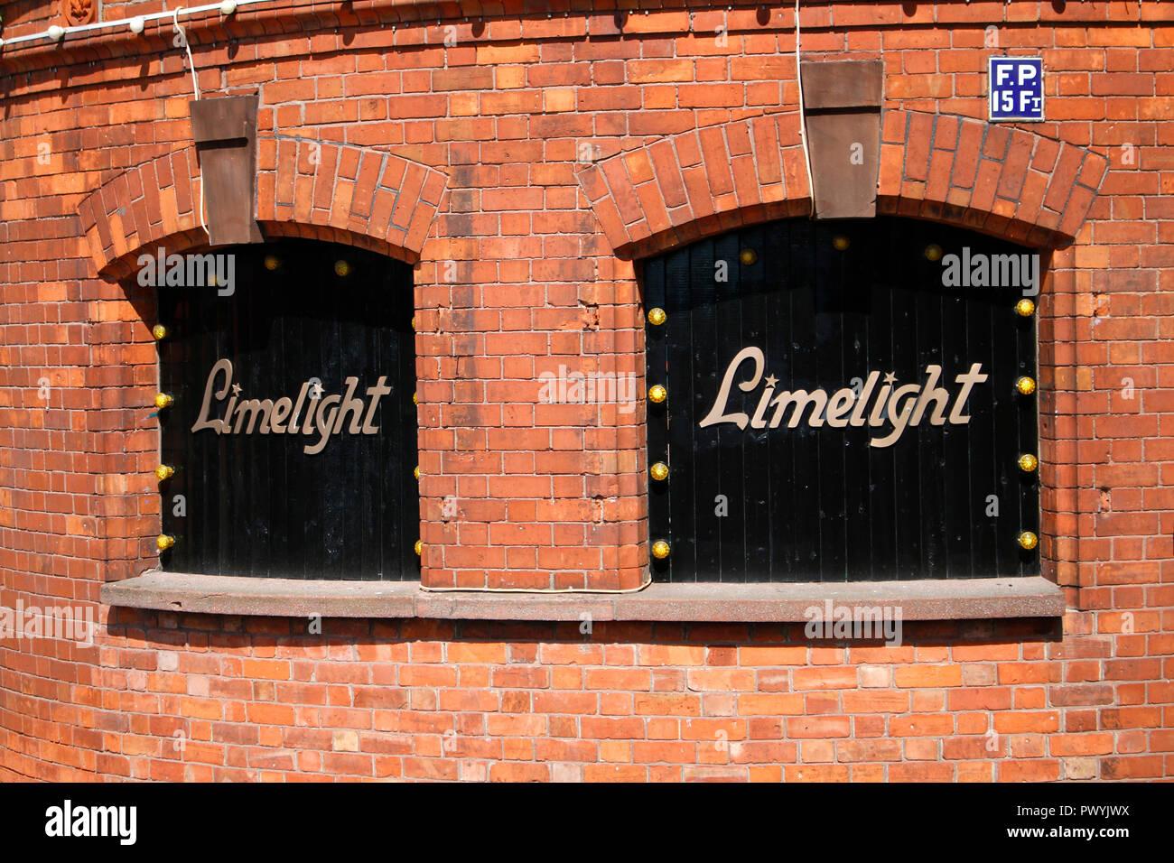 das Logo der Marke/ the logo of the brand 'Limelight',  Belfast, Nordirland/ Northern Ireland  (nur fuer redaktionelle Verwendung. Keine Werbung. Refe - Stock Image
