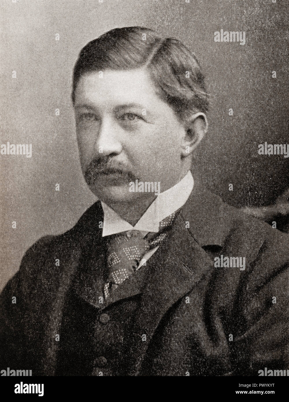 Sir William James Ingram, 1st Baronet,  1847 – 1924.   Managing Director of The Illustrated London News and a Liberal politician.  From The Business Encyclopedia and Legal Adviser, published 1920. - Stock Image