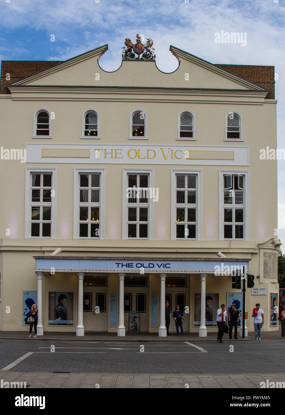 Old Vic Theatre Building South London - Stock Image