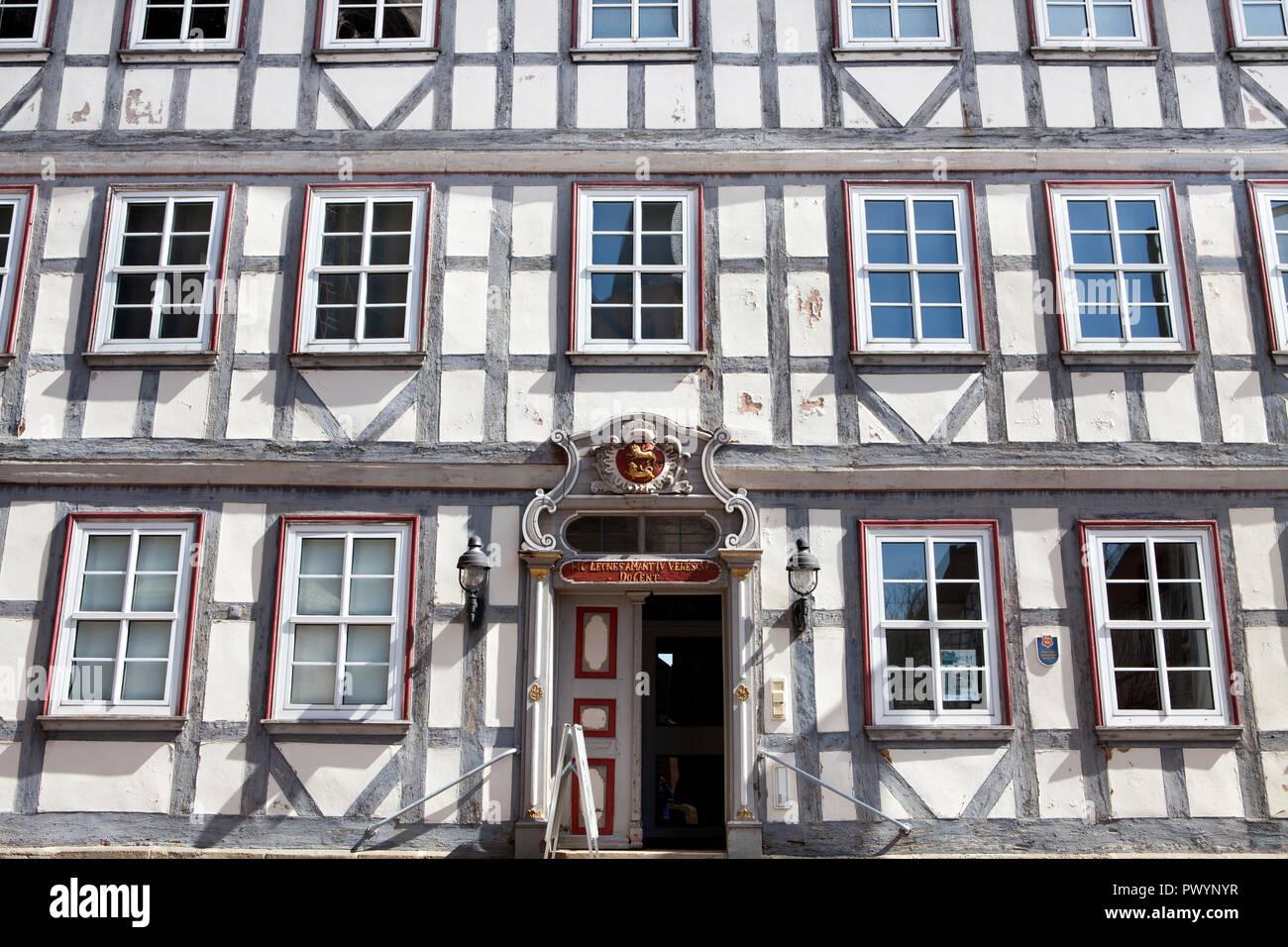 Municipal museum, former Catholic boys' school, Duderstadt, Lower Saxony, Germany, Europe - Stock Image