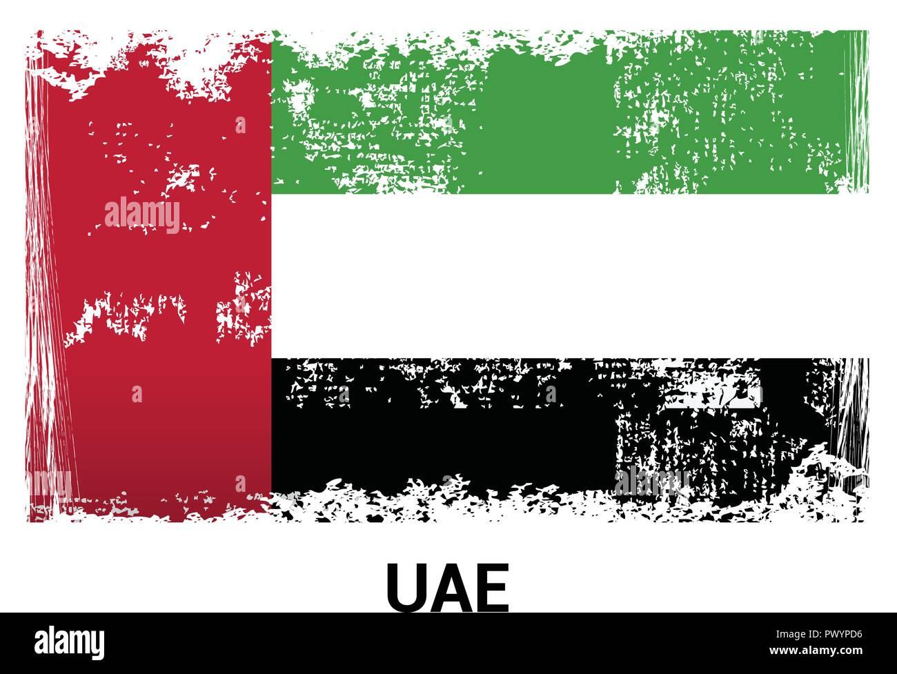 UAE flag design vector Stock Vector Image & Art - Alamy