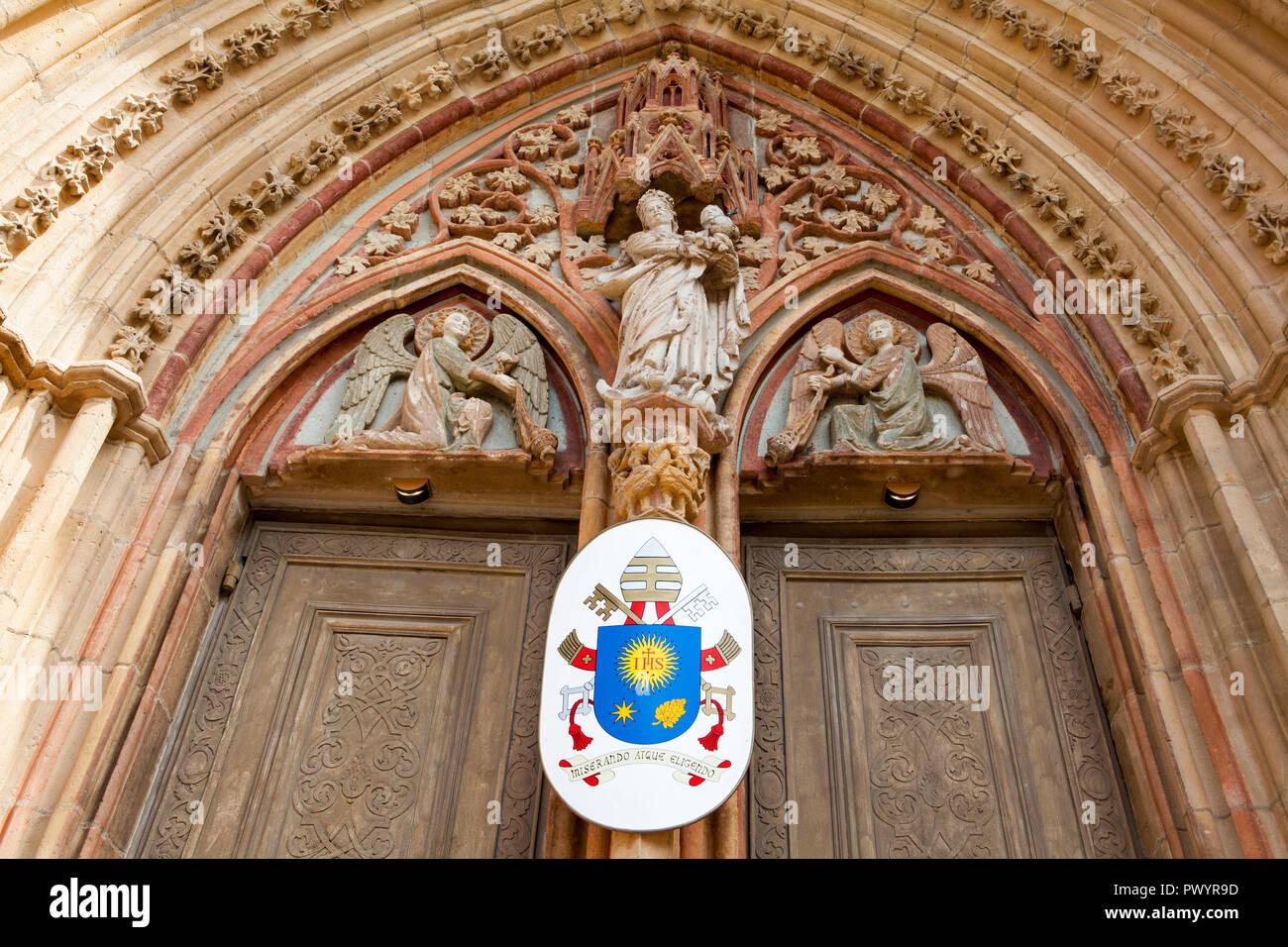 St. Cyriacus' Church, Duderstadt, Lower Saxony, Germany, Europe - Stock Image