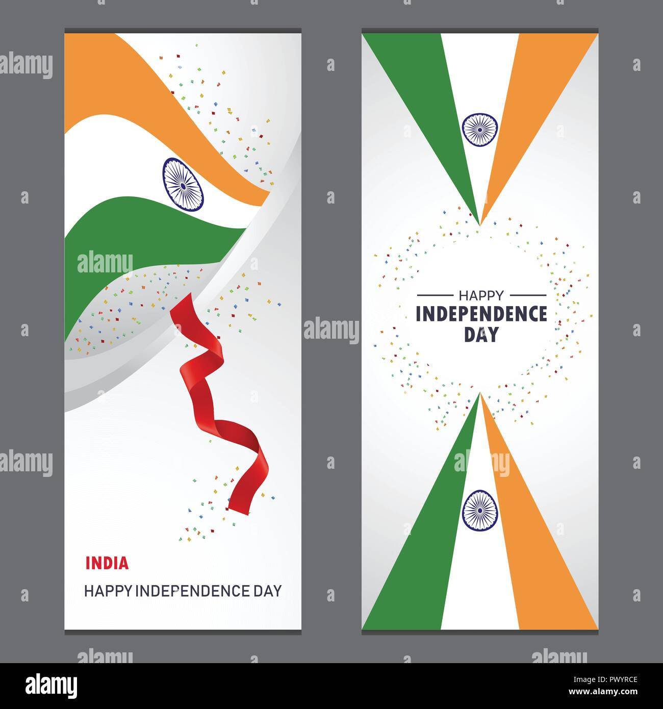 Happy Independence Banners Dynamic Website Banners