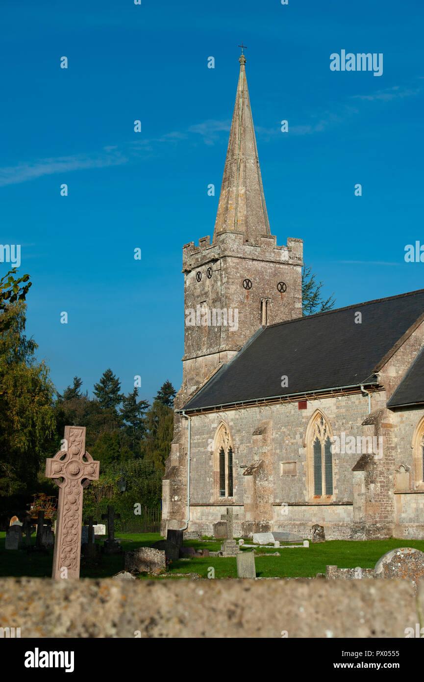 Church of St Aldhelm, Bishopstrow Warminster, Wiltshire, UK. - Stock Image