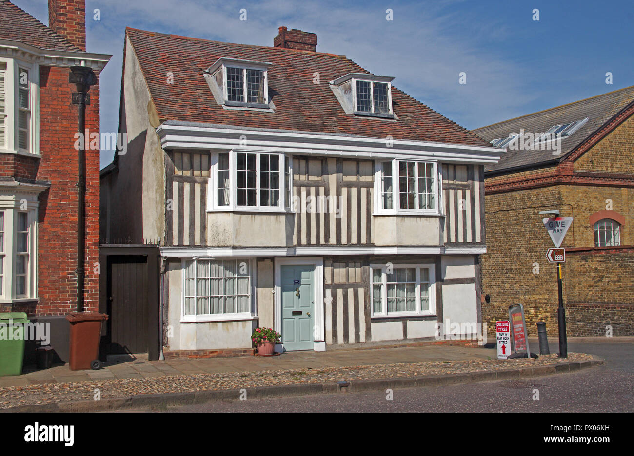 Faversham Period House Kent Stock Photo