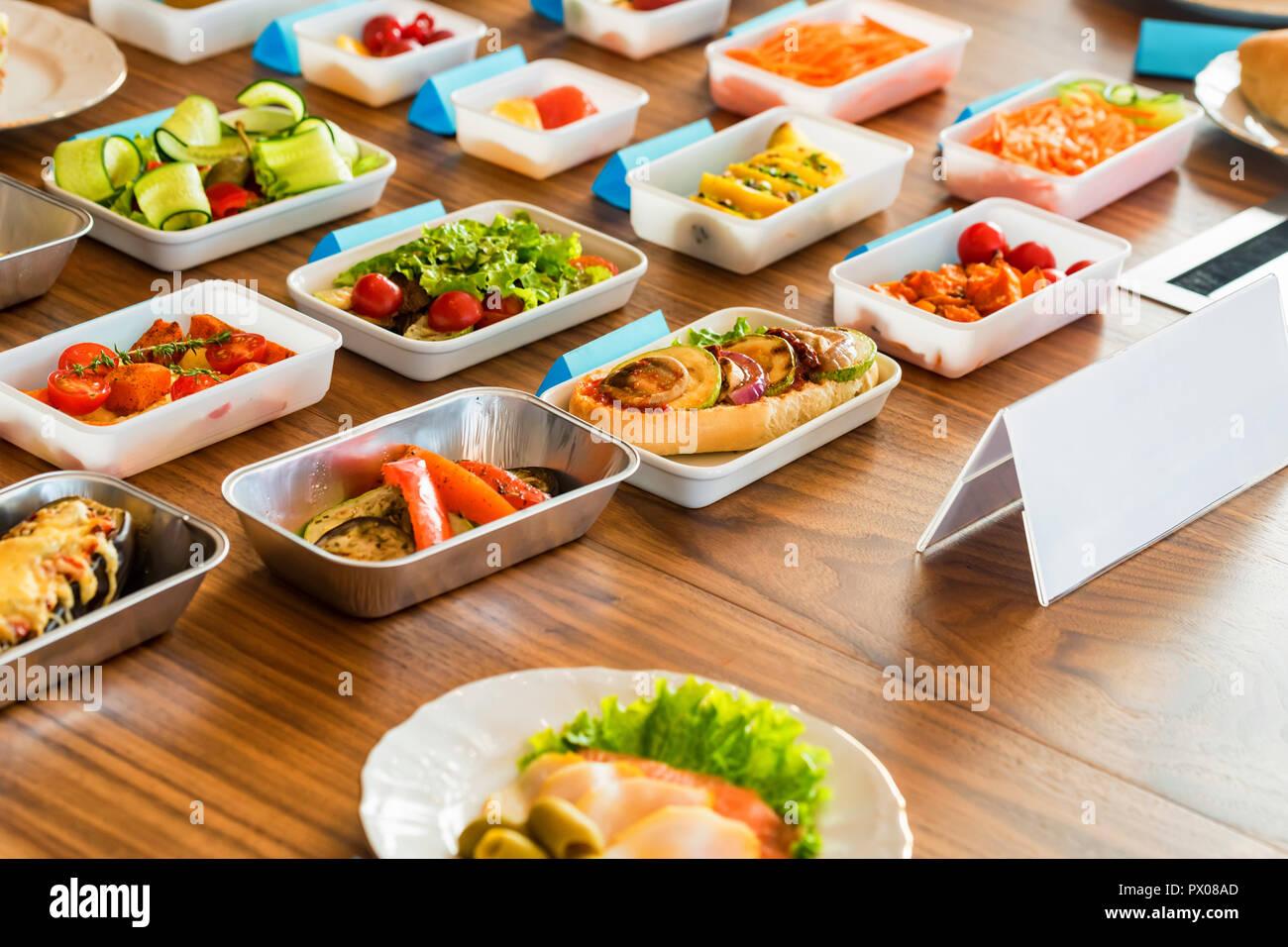 Thomson Inflight Meals >> Flight Meals Stock Photos Flight Meals Stock Images Alamy