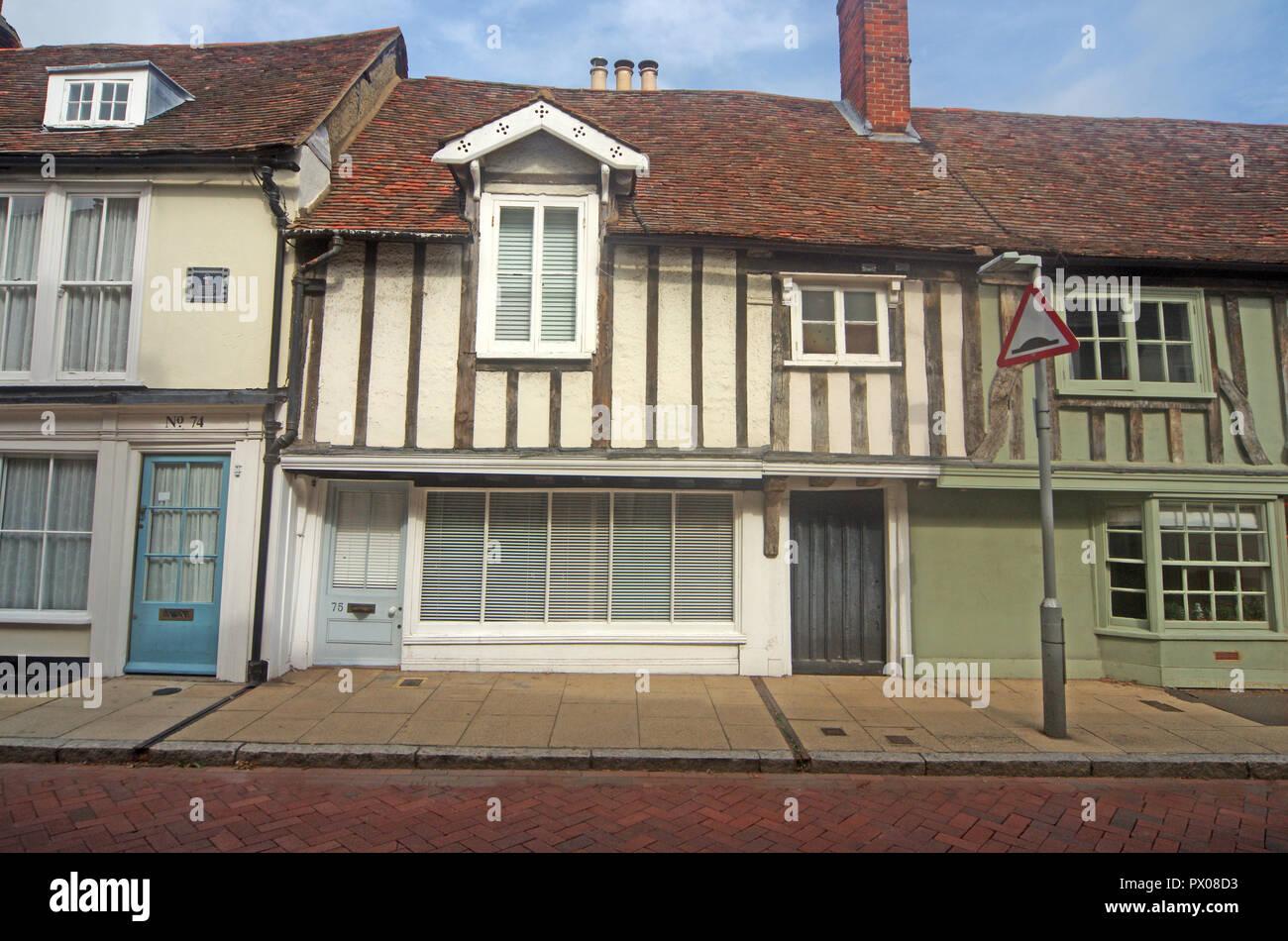 Faversham Period House Kent Stock Photo
