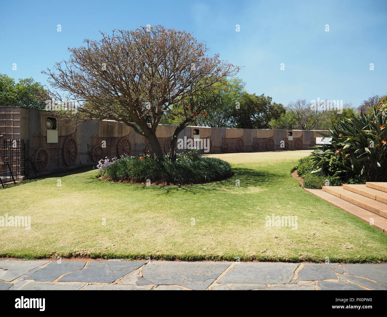 The Voortrekker Monument  South Africa Stock Photo