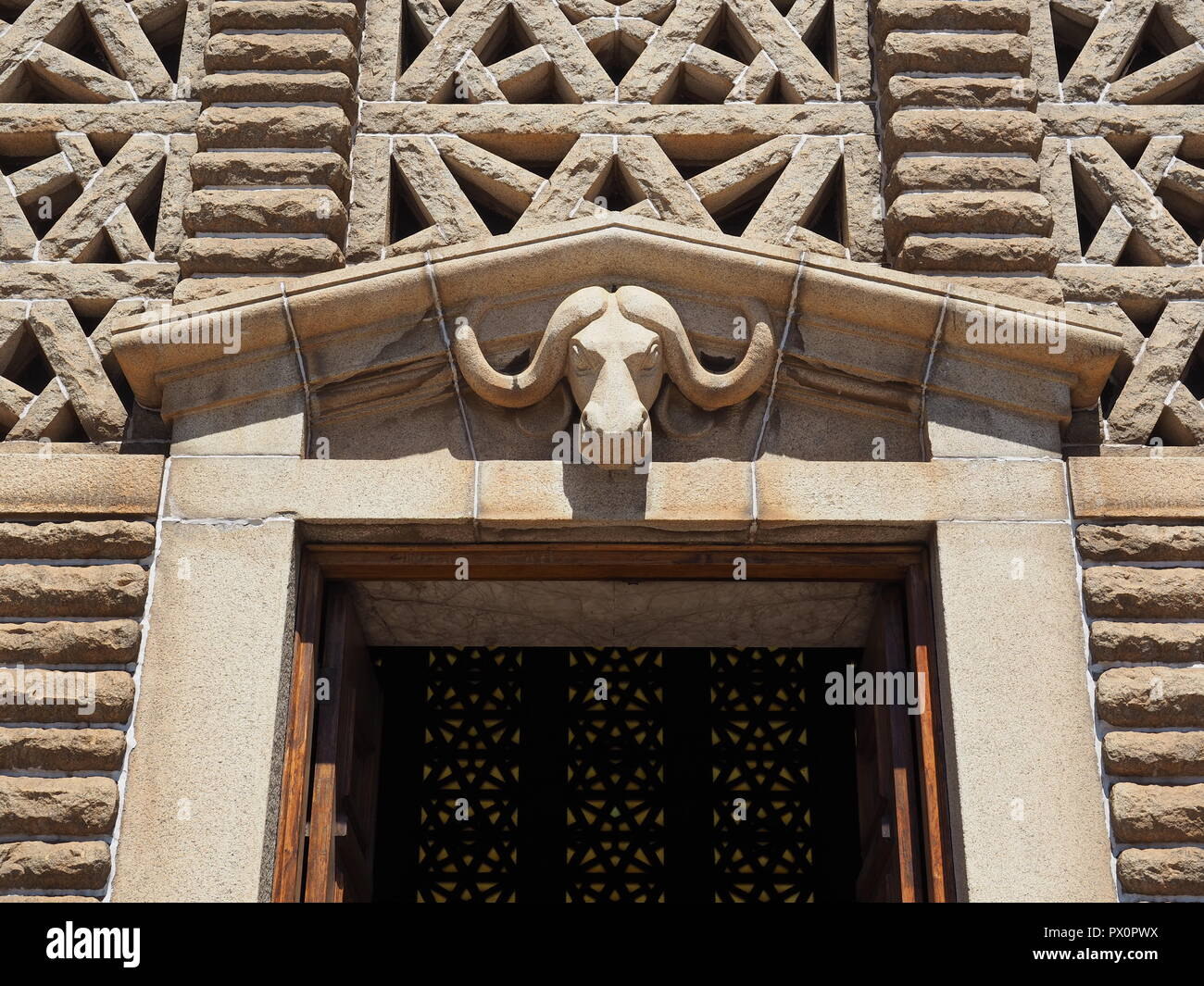 The Voortrekker Monument  South Africa - Stock Image