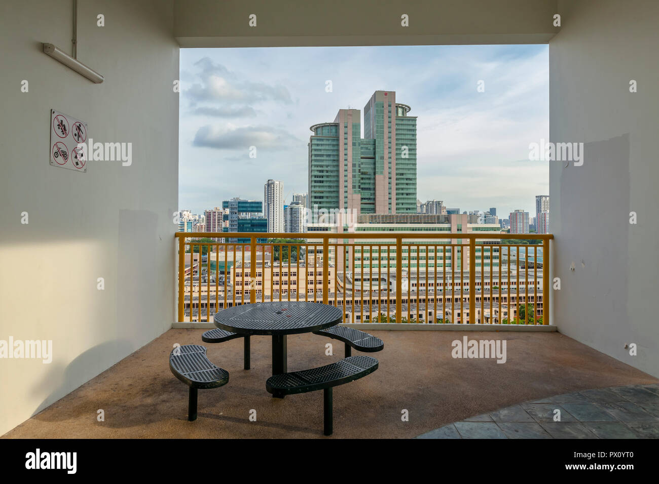 Toa Payoh HDB Hub Commercial Complex - Stock Image