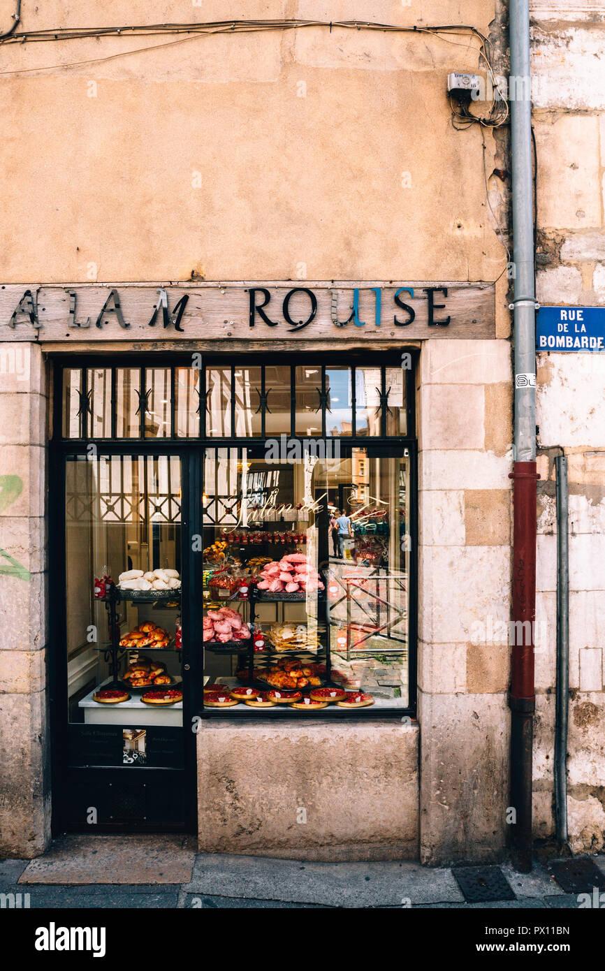 Lyon, France, 2018 - Stock Image