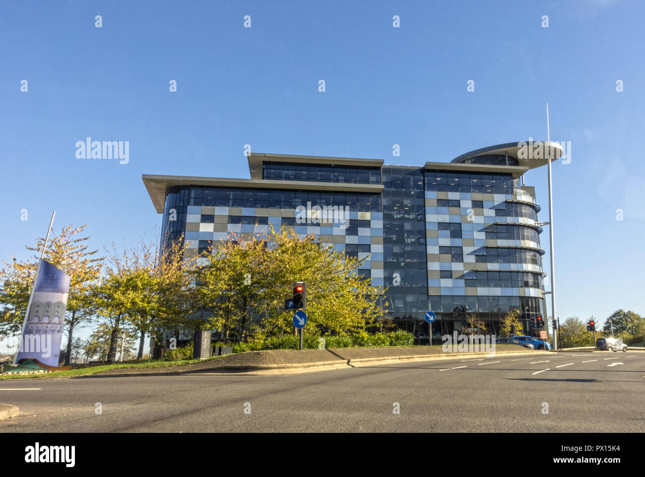 Capita Hartshead office building in Sheffield, England - Stock Image