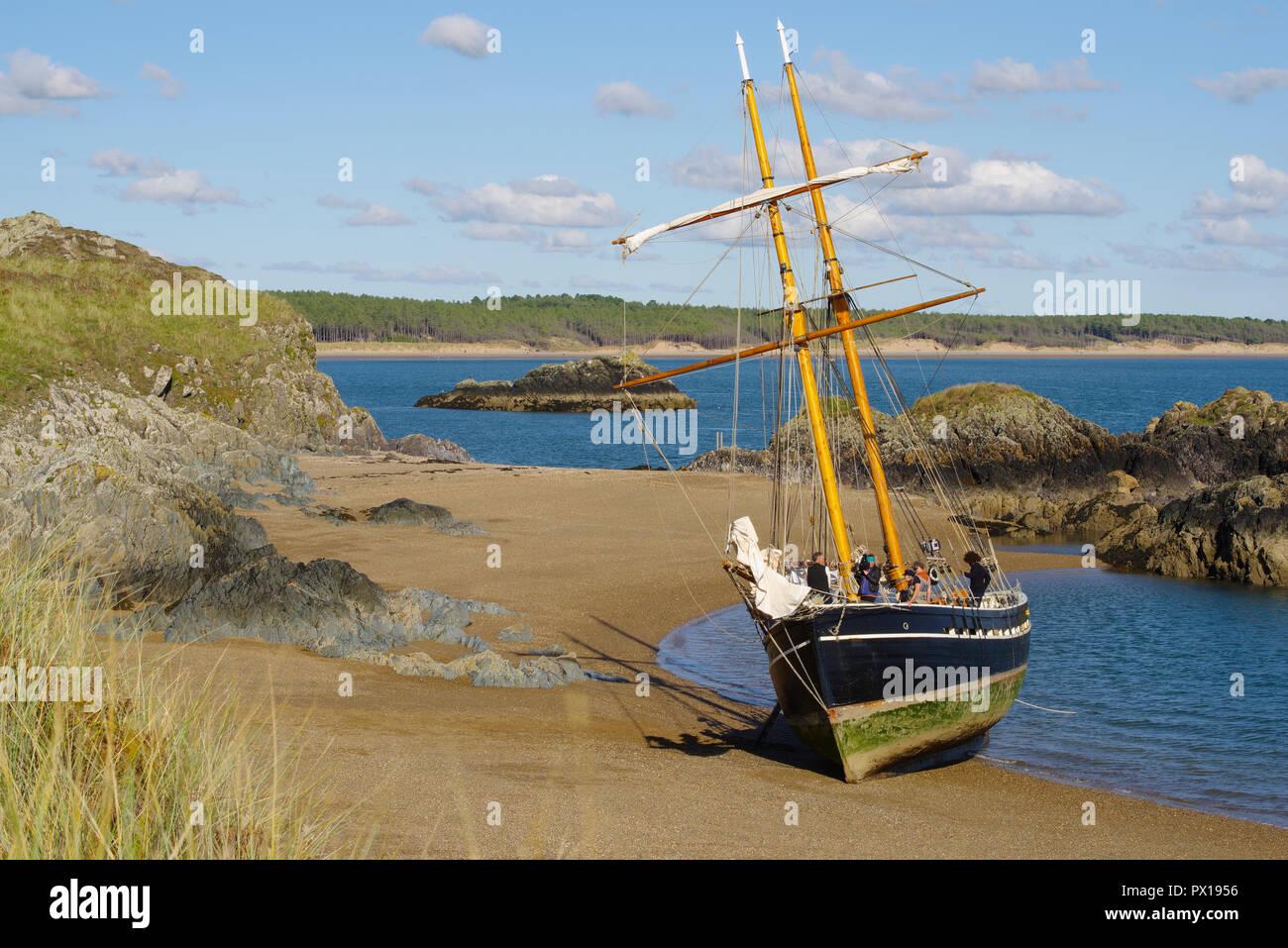 Sailing Ship Vilma - Stock Image