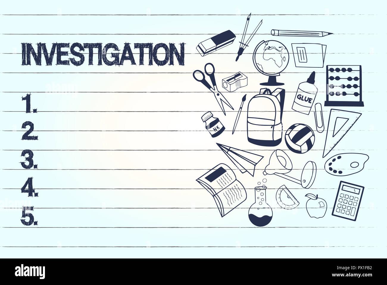 inquiry investigation