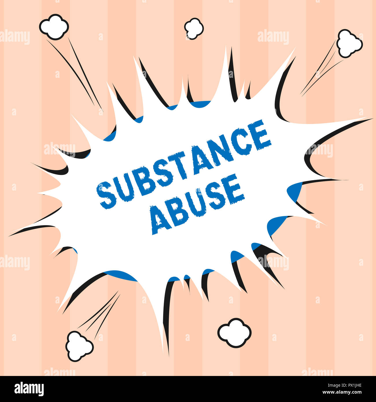 Text sign showing Substance Abuse  Conceptual photo