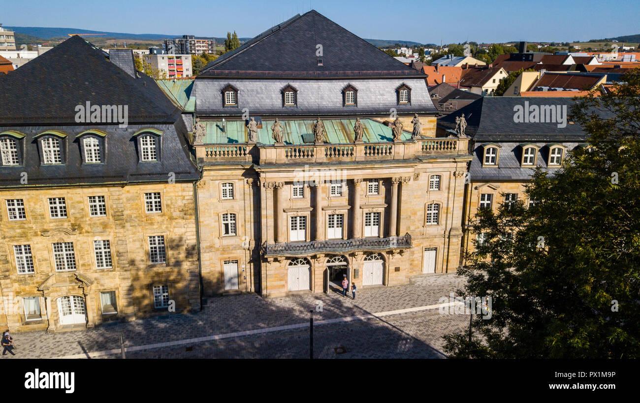 Margravial Opera House, Bayreuth, Bavaria, Germany - Stock Image