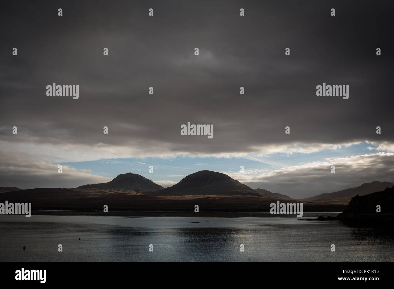 Bunnahabhain whisky distillery, in Bunnahabhain, Scotland, on 18 October 2018. - Stock Image