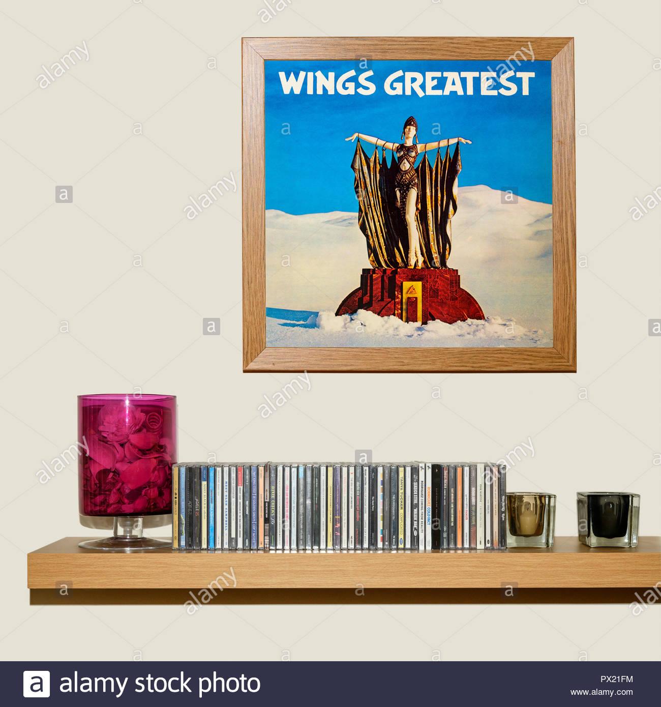 Paul Mccartney And Wings Stock Photos & Paul Mccartney And