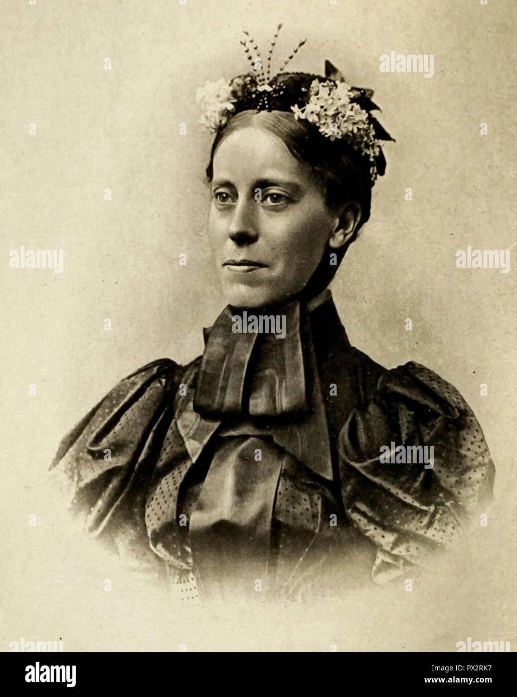 Mary Kingsley, circa 1901 - Stock Image
