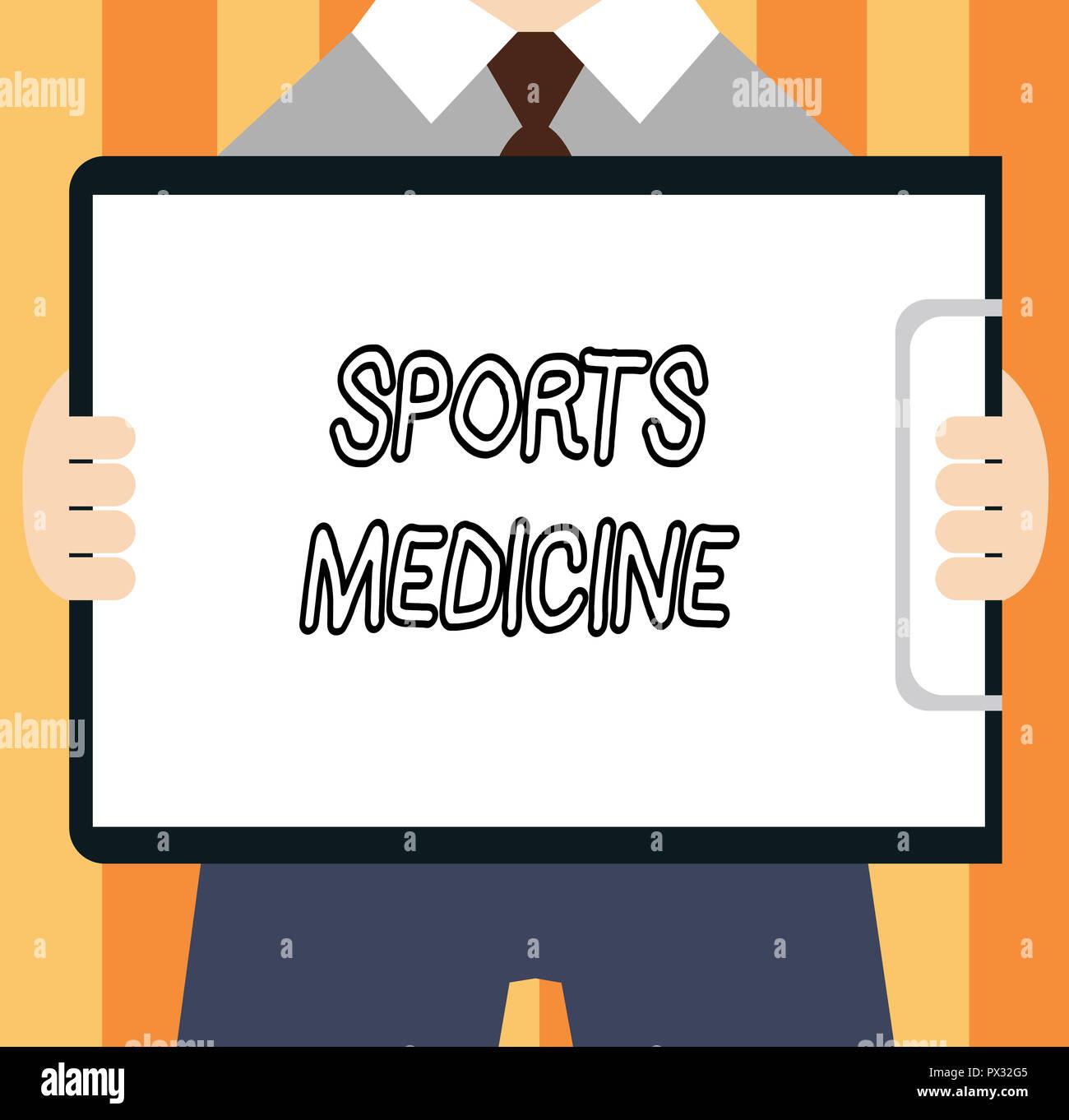 SPORTS MEDICINE CONCEPT