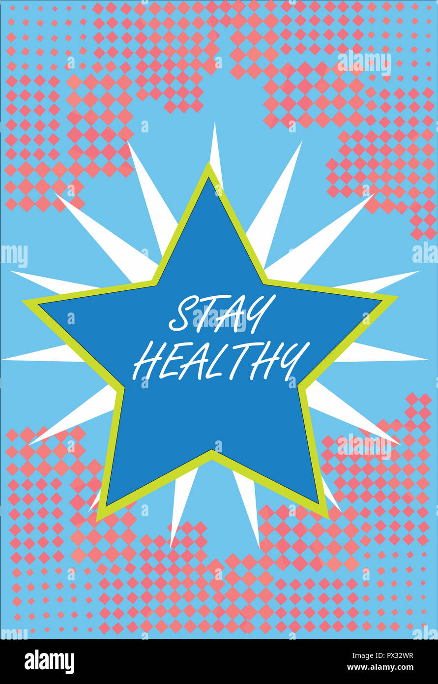 word writing text stay healthy business concept for keep balanced