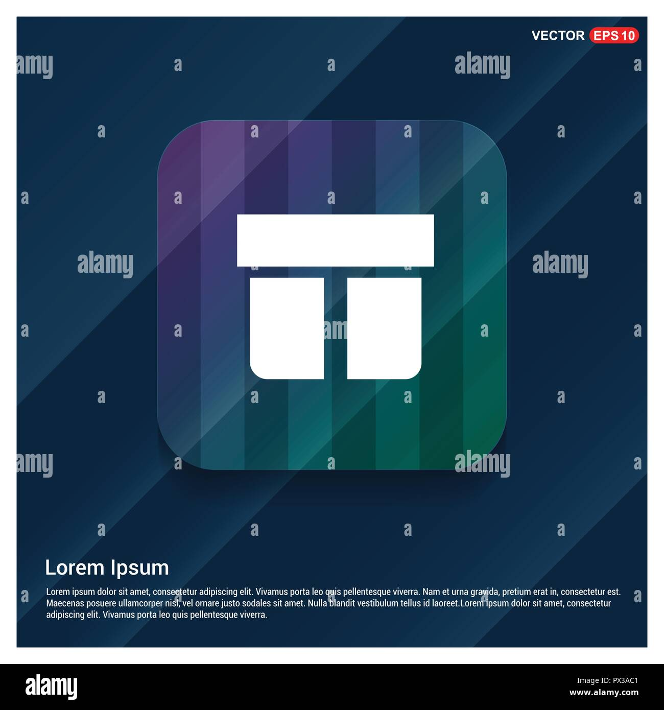 Christmas Gift Box Icon - Free vector icon Stock Vector Art ...