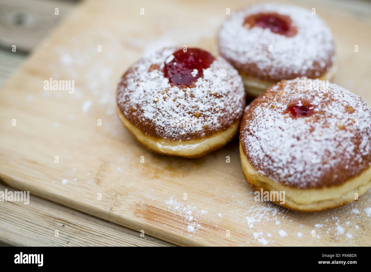 Happy Hanukkah Jelly Donuts with Plate Ornament