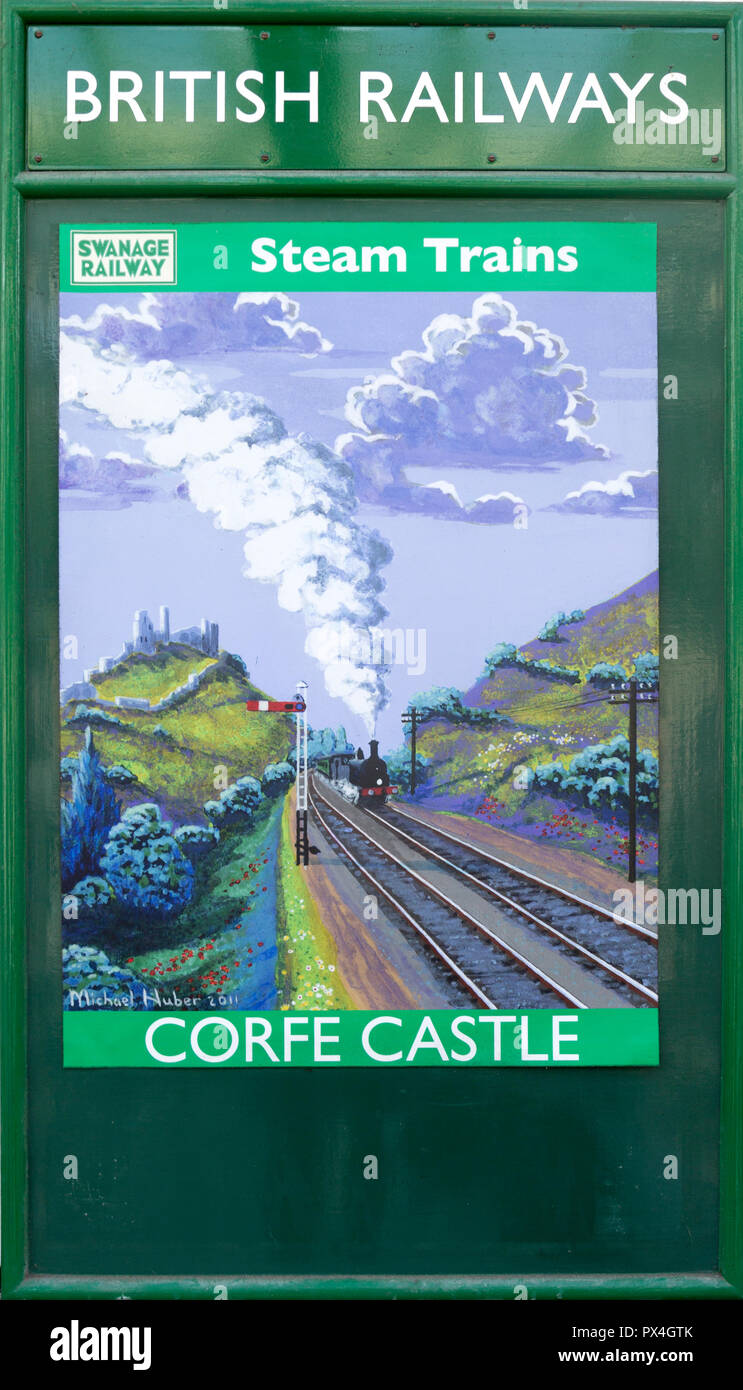Caerphilly The Castle South Wales Railway Vintage Retro Poster Castle Advert
