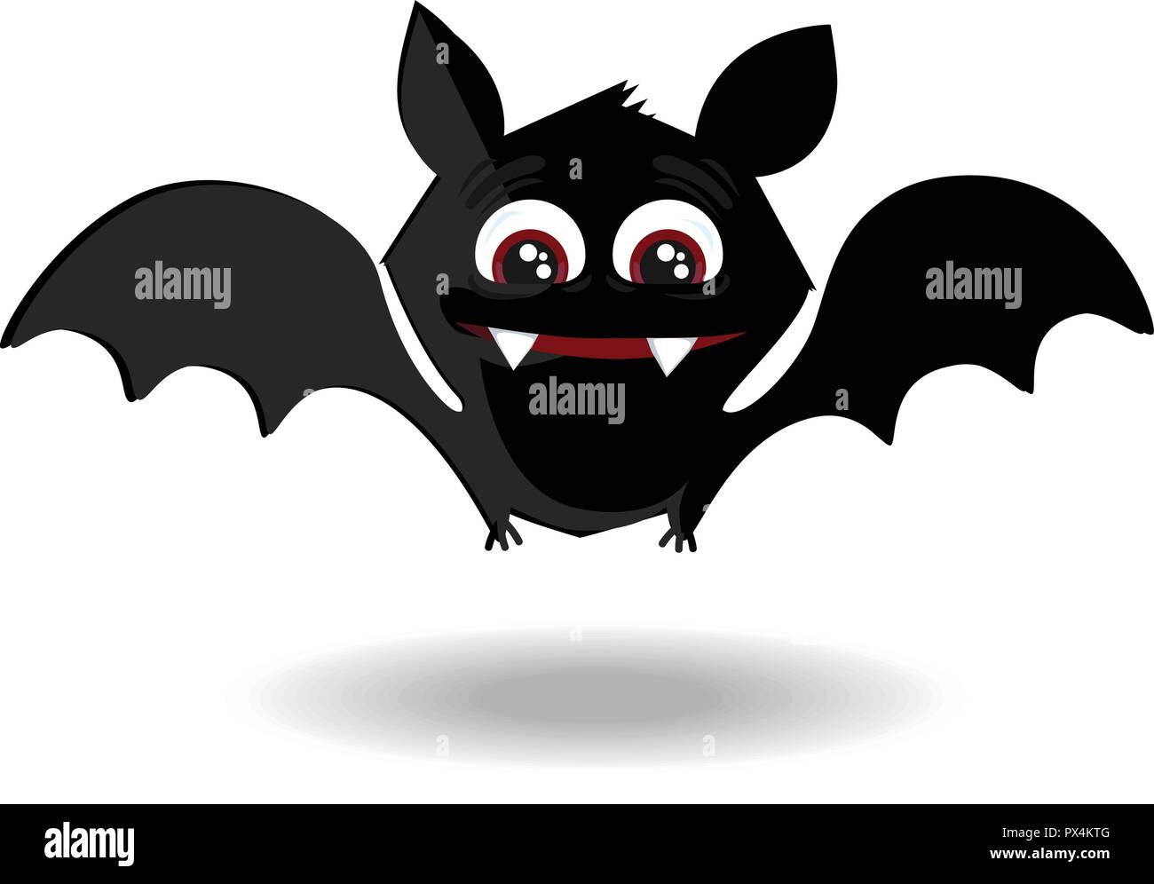 A Picture Of A Cartoon Bat cartoon bat stock photos & cartoon bat stock images - alamy