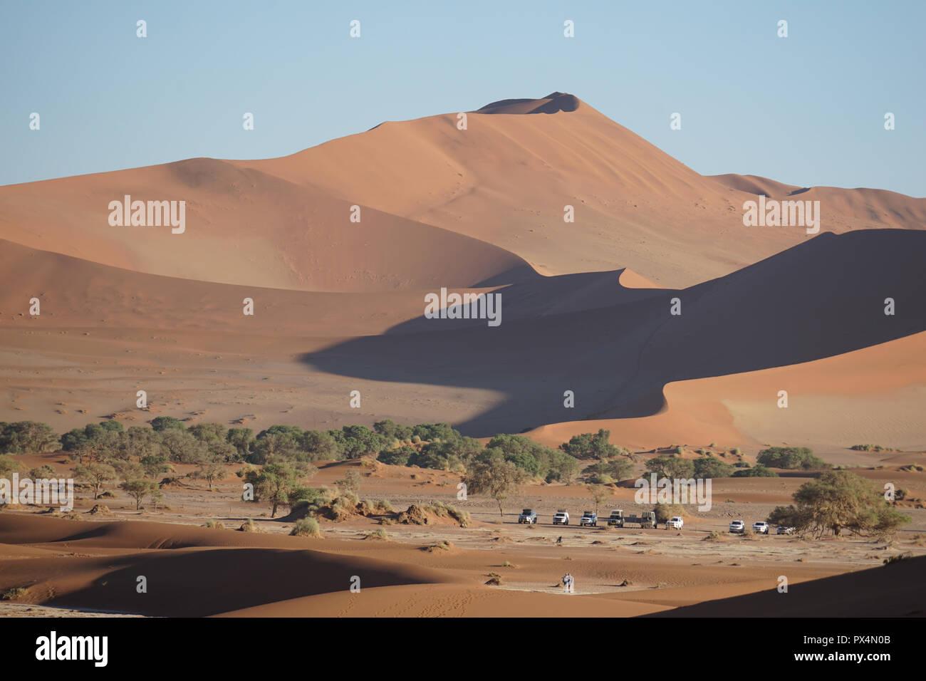 Sossusvlei, Namibia, Afrika - Stock Image