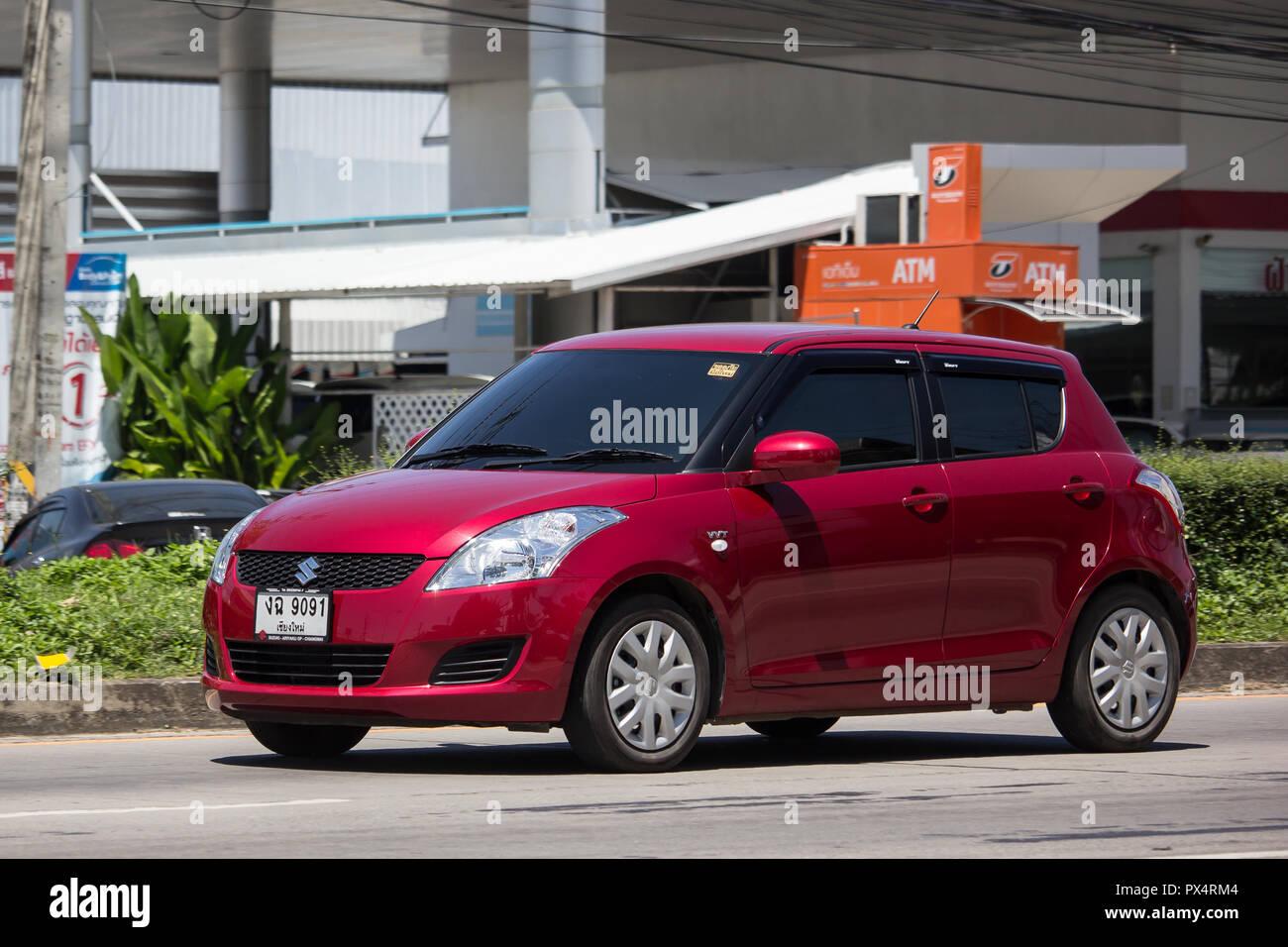 Chiangmai Thailand September 21 2018 Private Eco City Car Suzuki