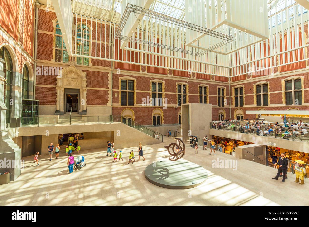Amsterdam rijksmuseum amsterdam museum and art gallery entrance